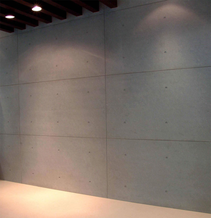 Fibre Cement Board Cladding : Install fiber cement panels as interior cladding with benefits